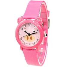 Children Watches Catoon Pig Silicone Strap Watch Lovely Girls Kids Wristwatches