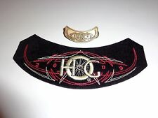 OEM HOG 2009 Patch and pin Harley Davidson Owners Group flhtcu dyna fxr xl