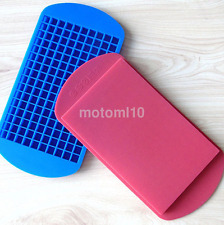 1Pc 160 Ice Cubes Frozen Mini Cube Silicone Ice Mold Mould Tray Kitchen Tool CA