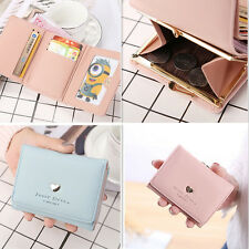 Colorful  Zipper Solid Golden Cute Card  Lovely Coin Wallet 1Pcs Fashion  Purse