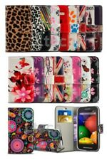 HTC Desire 620 - Fun Design Printed Pattern Wallet with Stand Case Cover