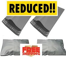 """GREY POSTAL POSTAGE STRONG MAILING POLY BAGS 22 X 30""""10 20 30 50 100 200 POUCHES"""