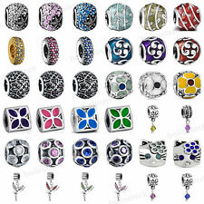 925 European Sterling New Silver Charm Bead for Charms Bracelet Necklace S-3