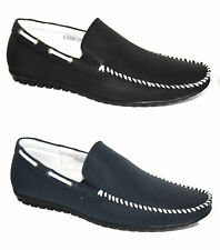 Mens Casual Black Blue Slip On Driving Shoes Loafers Mocassins All Sizes UK 5-11