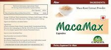 Pure MACA Root capsules Aphrodisiac Sex Enhancer Improve Energy Mood Sexual Well