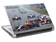 Formula 1 F1 Race Car Personalized LAPTOP Skin Decal Vinyl Sticker ANY NAME L420