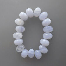 5x3MM Oval Shape, Blue Lace Agate Calibrated Cabochons AG-207
