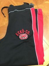 NWT Men's Ecko Unltd Sweat Pants SIZE XLT, 2XB,2XLT,3XB Black RED BIG TALL JC064