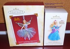 HALLMARK 2005 BARBIE AS TITANIA & HALLMARK 2007 BARBIE AS ROSELLA YOUR CHOICE