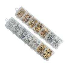 Box Assorted Lot Crystal Round Rondelle Spacer Charm Beads for Jewelry Making
