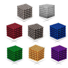 EDC 216*5mm Magic Magnet Ball 3D Puzzle Cube Beads Ball Sphere Magnetic Toys
