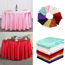 1.2mx1.2m Tablecloth Round Designed Wedding Party Festival Chain Link Decoration