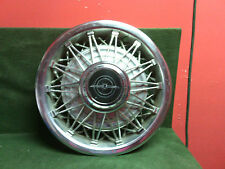 "1983 - 1988 Ford Thunderbird wire wheelcover hubcap 14"" Used OEM"
