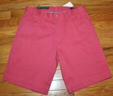 NWT Mens Polo Ralph Lauren Classic Fit Flat Front Chino Shorts Nantucket Red *4N