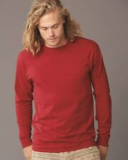 JERZEES Mens HiDENSI T Long Sleeve T Shirt Cotton Blank 363LSR Up to 3XL