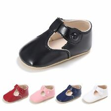 Toddler Baby Boys Girls Casual Soft PU Shoes Infant Anti-slip Prewalker Sandals