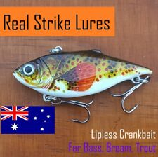 Lipless crankbait Fishing lures Bream Bass Trout Cod Yellowbelly Perch Whitin...