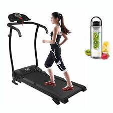 HOME TREADMILL Incline Electric Motorised Folding Running Machine Cardio Fitness