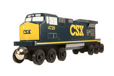 CSX C-44 Engine -  Wooden toy train by Whittle Shortline Railroad