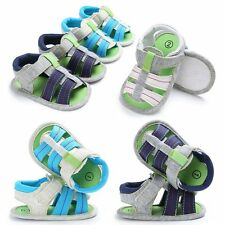 Summer Toddler Baby Boys Girls Infant  Crib Shoes Moccasins Shoes Thongs Sandals
