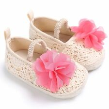 Baby Anti-Slip Soft Sole Flower Shoes Toddler Girl Tassel Moccasin Sandals Cute