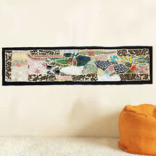 Wall Art Vintage Tapestry Indian Bohemian Embroidered Patchwork Old Hanging