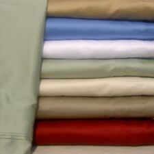 12 INCH POCKET DEEP FITTED SHEET+PILLOW CASE 1000 TC EGYPTIAN COTTON ALL SIZE.