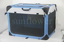 Portable Foldable Pet Soft Crate Dog Cat Travel Cage Kennal S/M/L