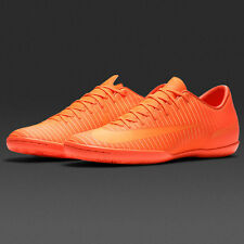 Nike MercurialX Victory VI IC Soccer Cleats Mens SZ 12 Orange Crimson 831966 888
