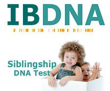 HOME DNA SIBLINGSHIP LAB TEST KIT - 2 SIBLINGS - FAST ACCURATE DISCREET RESULTS