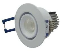 Atom ADJUSTABLE DOWNLIGHT LED 3W Dimmable Driver SATIN CHROME - 3000K Or 4000K