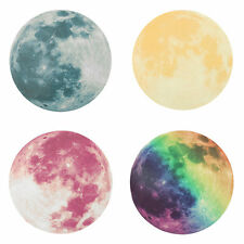 Fluorescent Moon Wall Stickers Home Decor Decoration Glow In The Dark BT