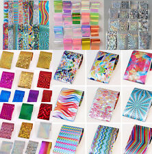 Nail Foils Wraps Transfer Stickers Paper Decal Nail Art Polish Decoration Tips