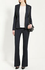NWT Boss by Hugo Boss Tulea6 Trouser Pants Black Gray Mini Check $275 – 14