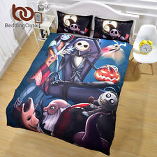 Nightmare Before Christmas Bedding Set No Fading Duvet Cover Twin Full Queen Uni