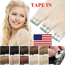 "16""18""20""22"" Tape In Virgin Remy Human Hair Extensions Human Hair Extension B113"