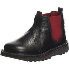 Kickers Kick Chels Infant Black Leather Chelsea Boots