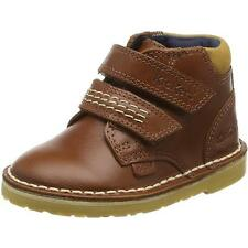 Kickers Adlar Twin Infant Tan Leather Ankle Boots