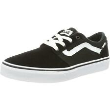 Vans Chapman Stripe Youth Black Suede Trainers
