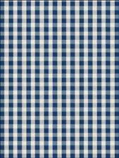 Blue gingham pattern background Edible CakeTopper Wafer Icing Decoration