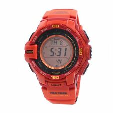 Casio PROTREK Tough Solar Mens Digital Watch Casual Orange PRG-270-4A