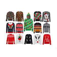 Christmas Xmas Jumper Sweater Retro Novelty Mens Ladies Unisex Size Hoodie New