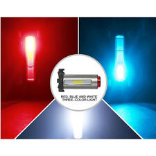 7 Modes COB USB Rechargeable Bike Bicycle Cycling Front Rear Tail Light Lamp