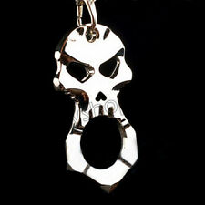 EDC Survival Tool Skull Key Chain Outdoor Broken Window Escape Self-defense Tool