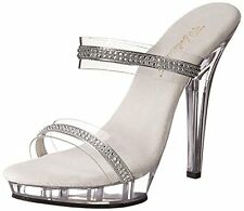 Pleaser Lip-102-2/c/rs Womens Lip-2/C/RS Platform Sandal- Choose SZ/Color.