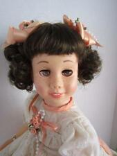 EXTREMELY RARE HFace CHATTY CATHY Brunette Bob BROWN EYES  TALKS FREE SHIPPING