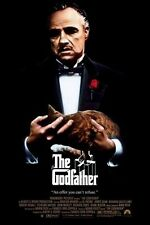 THE GODFATHER  FILM MOVIE METAL TIN SIGN POSTER WALL PLAQUE