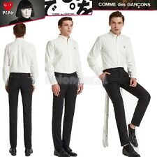 On Sale Comme Des Garcons Homme Men Long Sleeve Button Front Play Polo Shirt