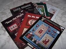 Santa Cross Stitch Patterns ~ Your Choice