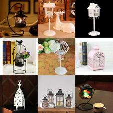 Vintage Modern Iron Tealight Candle Holder Candlesticks Desk Hanging Ornament